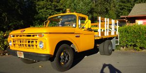 595793e5c4 1965 Ford F-350 Flat Bed was a Service Truck from Susanville California has  a
