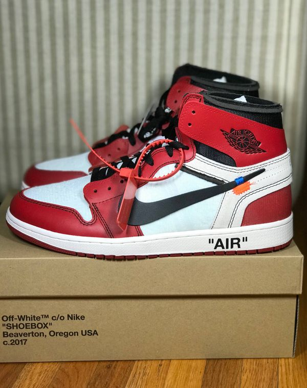 huge selection of cd772 11b1a Off white Jordan 1s for Sale in San Francisco, CA - OfferUp