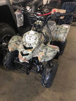 110cc camo atv for kids for Sale in Dallas, TX