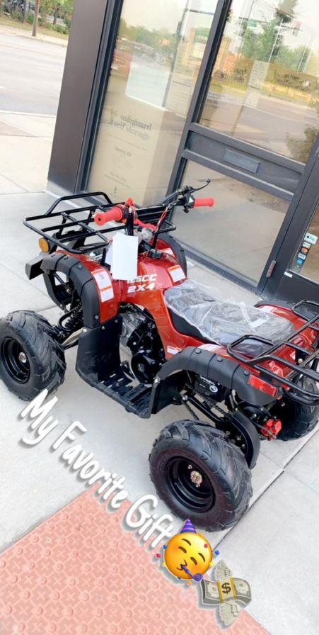 Photo 4 wheeler 125cc ADULT