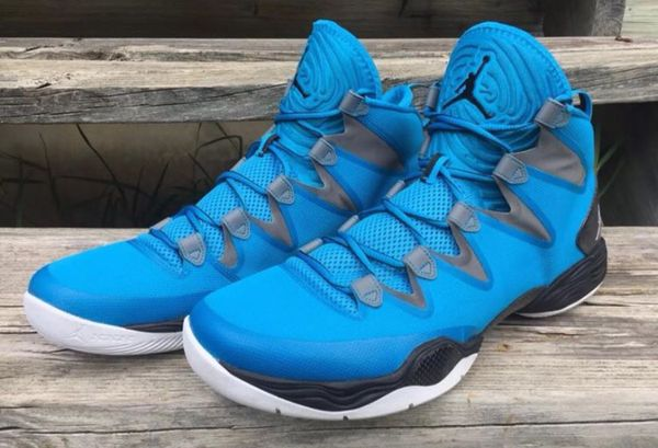 premium selection 6c2e3 83a25 Nike Air Jordan XX8 SE Dark Powder Blue White-Cool Grey-Black 616345-408  Size 14
