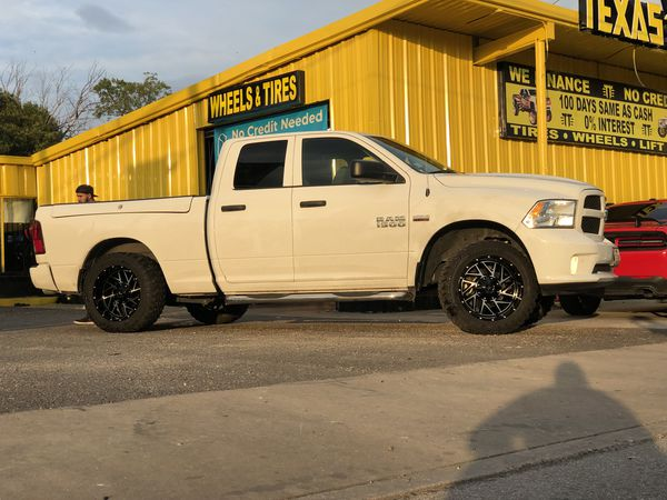 Wheels tires and lift kit packages no credit needed same day wheels tires and lift kit packages no credit needed same day install take now pay later any size for sale in san antonio tx offerup solutioingenieria Choice Image