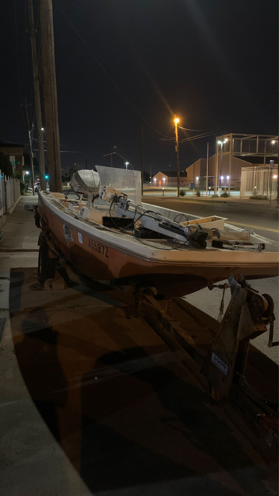 Photo Boat and trailer for sale