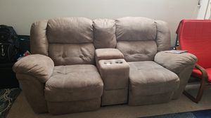 Recliner with cup holder for Sale in Falls Church, VA