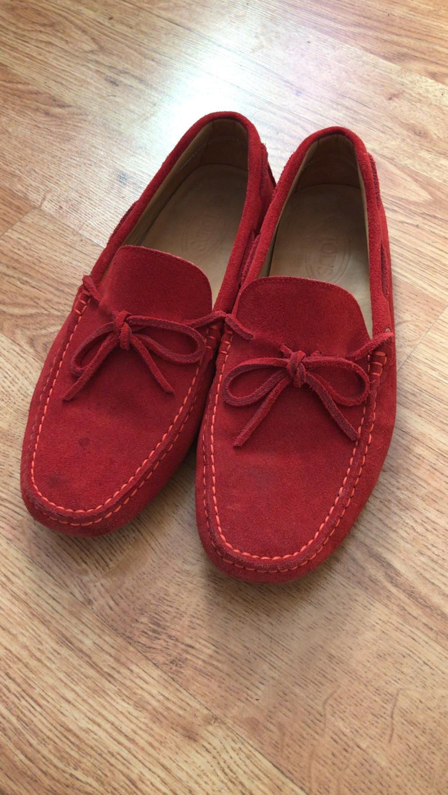 Tod's Men Loafers Red US9.5 - 145$