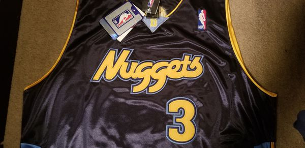 detailed look 2ffeb de6c2 Authentic Denver Nuggets Allen Iverson jersey for Sale in Camby, IN -  OfferUp