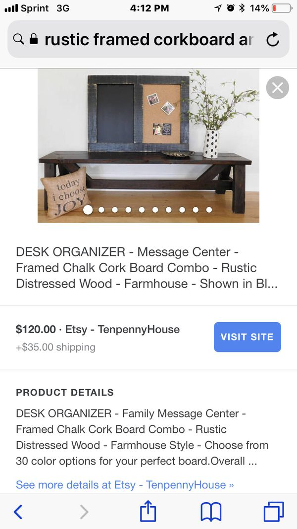 Rustic Frame Home Decor (Household) in Gainesville, FL - OfferUp