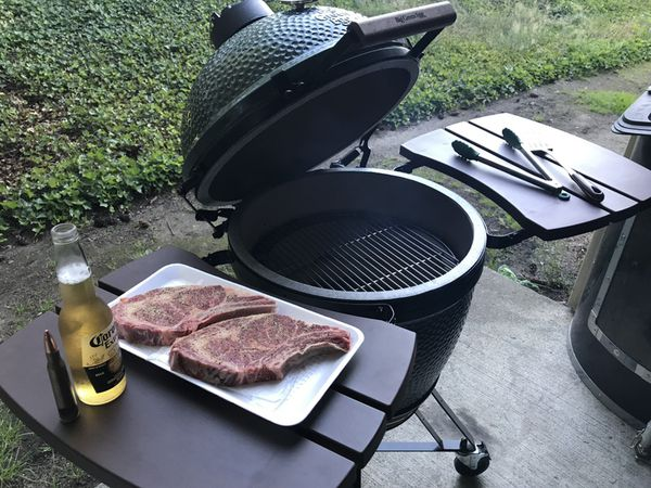 Superb Large Big Green Egg Bbq Smoker With Extras For Sale In Joint Base Lewis Mcchord Wa Offerup Complete Home Design Collection Barbaintelli Responsecom
