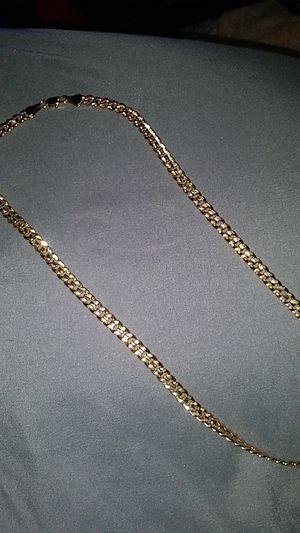 Photo 18 karat gold necklace