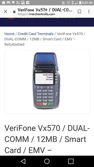 [2] VeriFone Vx 570 Machines for Sale in Austin, TX