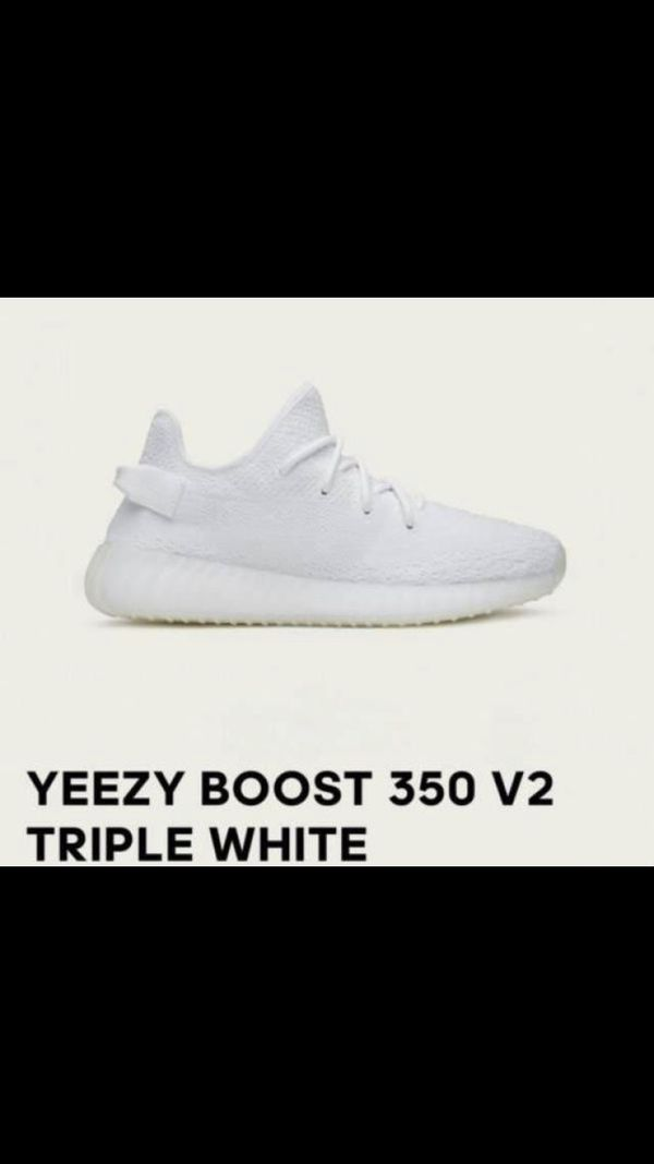 9c3f78e93 Yeezy Boost 350 V2 Triple White size 9 for Sale in Hollywood