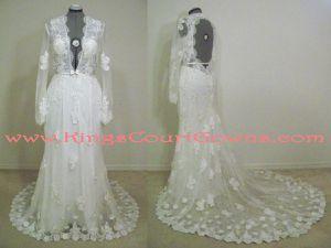Photo Lot of 120+ Bridal/Formal Dresses plus shoes & accessories