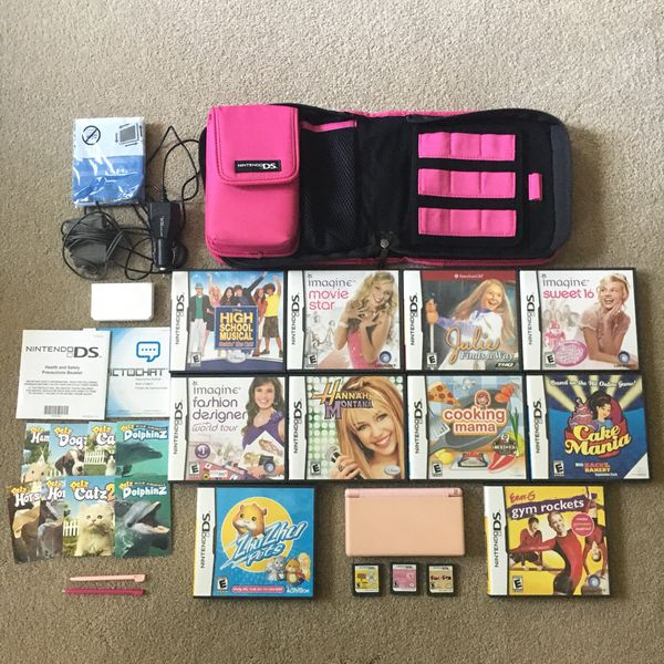Pink Nintendo Ds Lite Bundle For Sale In Maineville Oh Offerup