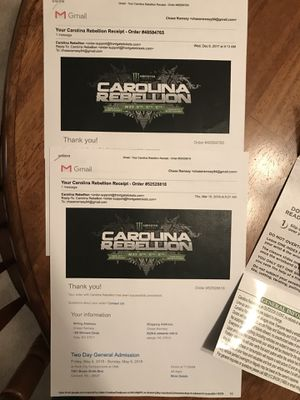 Carolina Rebellion for Sale in Cary, NC