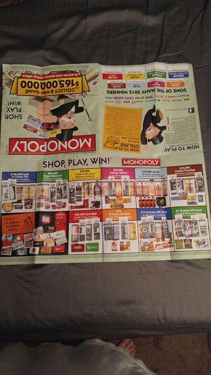 safeway monopoly winners