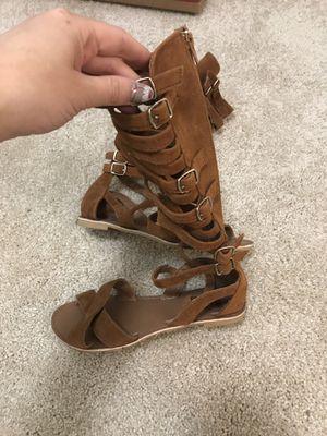 Gladiator sandals size 6 for Sale in Falls Church, VA