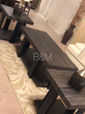 Brand new 3 piece coffee table set for Sale in Houston, TX