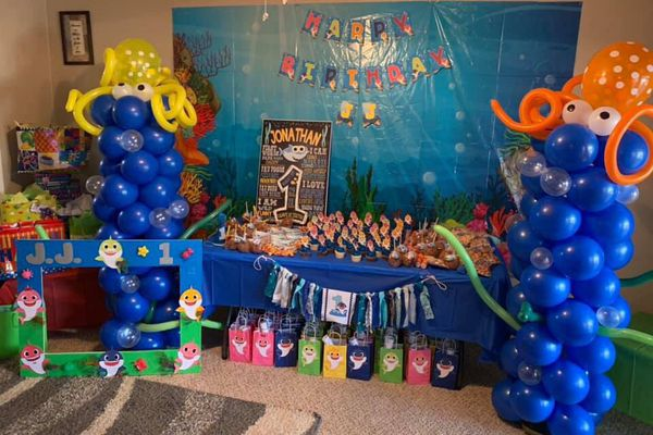 Baby Shark Party Decorations For Sale In Fort Worth Tx