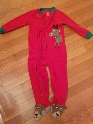 Carter's Kid's Christmas Pajamas, size 3t for Sale in Potomac Falls, VA