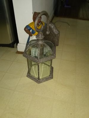 Outdoor house lantern for Sale in Alexandria, VA