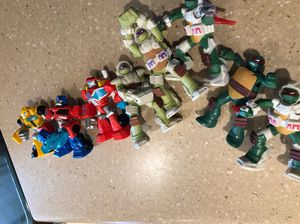 Toy figures transformers and ninja turtles for Sale in Surprise, AZ