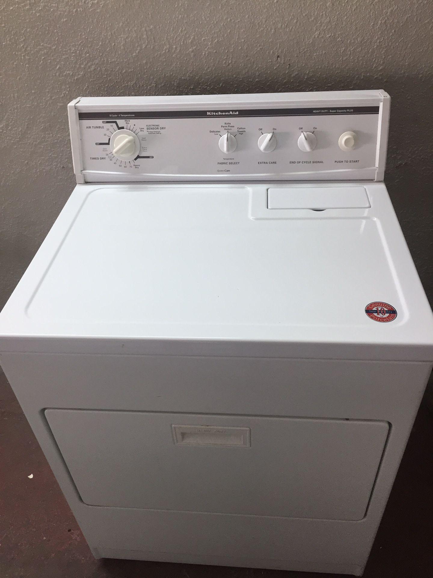 Kitchen Aid Electric Dryer