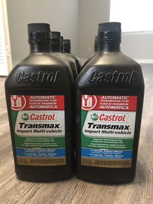 Castrol Transmax Import Multi Vehicle ATF for Sale in Tallahassee, FL -  OfferUp