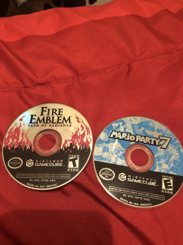 Fire Emblem Path of Radiance + Mario Party 7 Gamecube Bundle for Sale in  Mesa, AZ - OfferUp