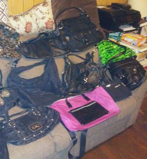 Purse and backpacks and cross body bags for Sale in Washington, DC