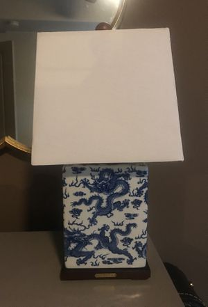 Ralph Lauren Blue and White Lamp for Sale in Charlotte, NC