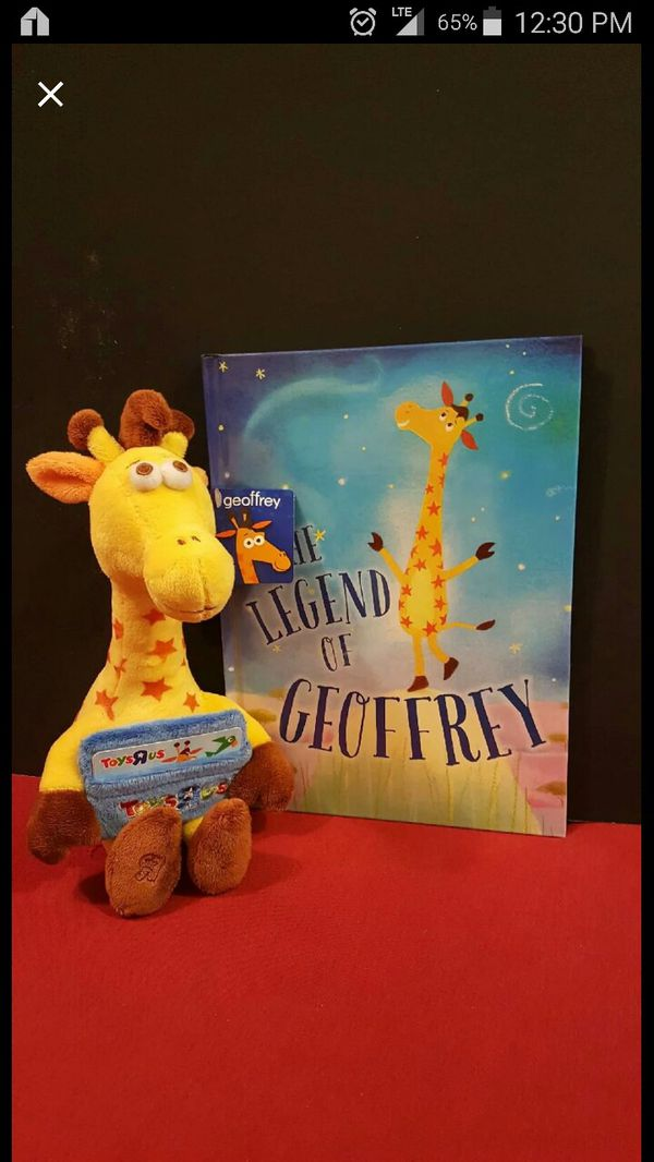 Toys R Us Geoffrey The Giraffe Book And Plush For Sale In Chicago