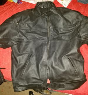 Leather motorcycle jacket for Sale in TN, US