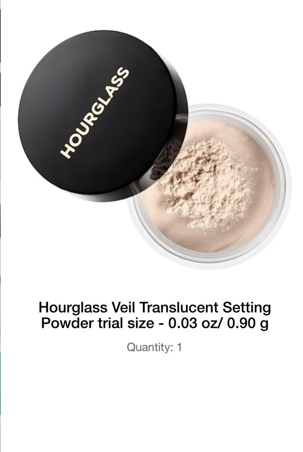 6017b0c0c722a Makeup Hourglass Veil Translucent Setting Powder trial size - 0.03 oz  0.90  g for Sale in Seattle