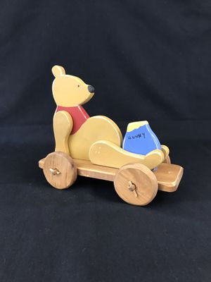 Wooden Homemade Pull Toys Collectible Christmas Gifts Holidays Crafts for Sale in Chandler, AZ