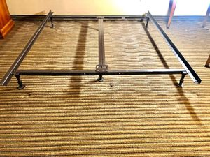 Photo Bed frame Rails for Full, Queen and King. 5 pieces.