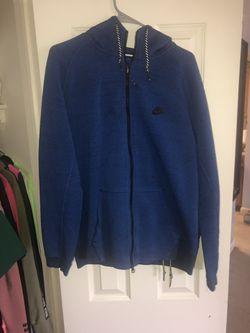 Blue nike tech hoodie 40$❗️❗️❗️❗️ Thumbnail