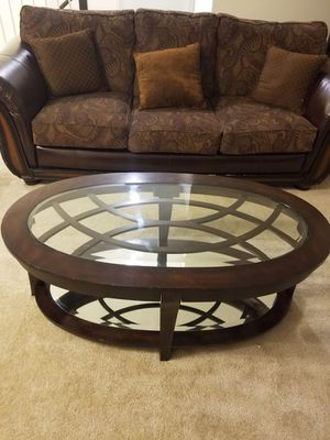 3 Piece Hardwood table set - (Self Pick-Up) for Sale in Frederick, MD
