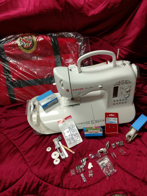 Singer One Plus Sewing Machine With Carrying Case Addl Awesome Singer One Plus Sewing Machine