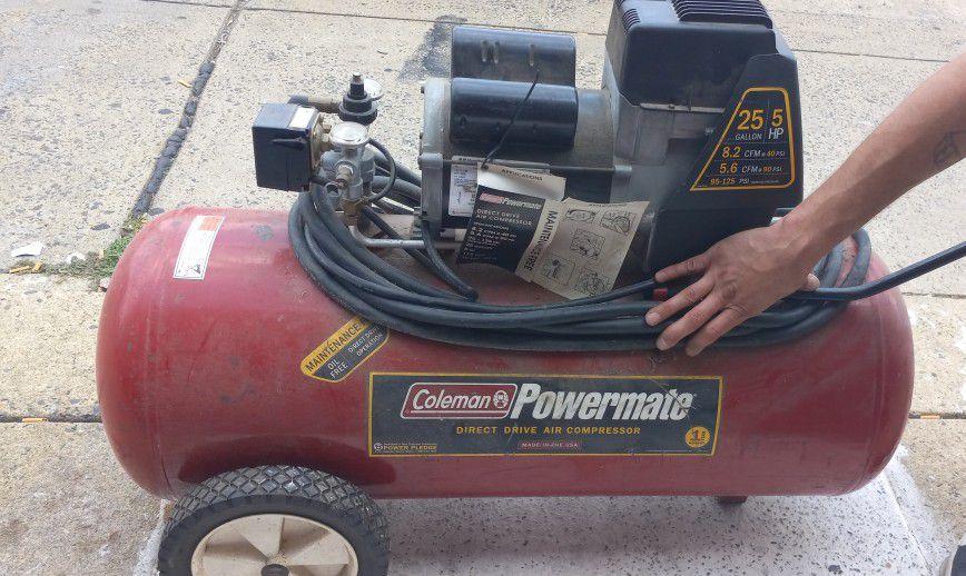 COLEMAN POWERMATE DRIVE AIR COMPRESSOR