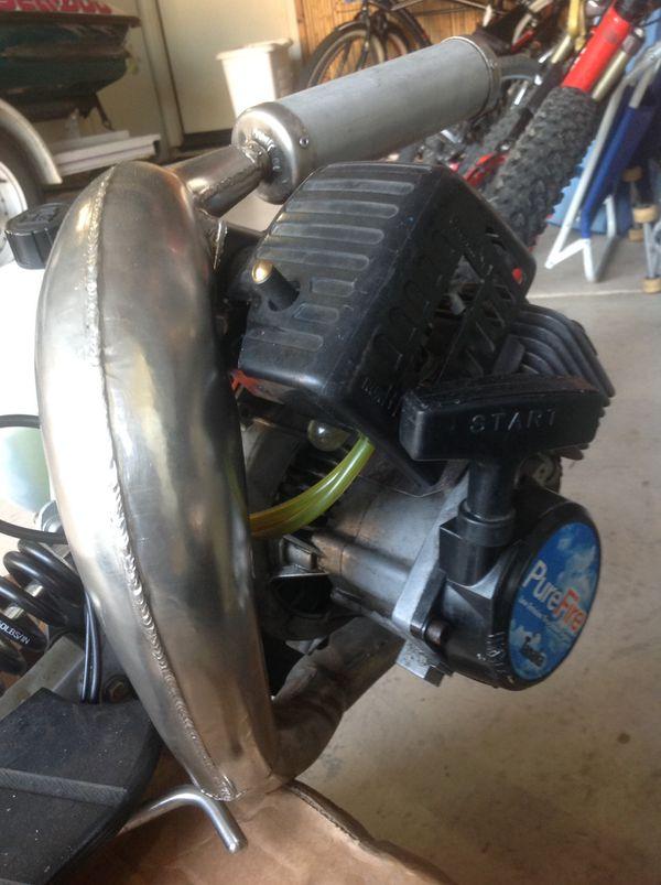 Boxer Santa Cruz gas scooter Goped 40cc 350 obo for Sale in San ...