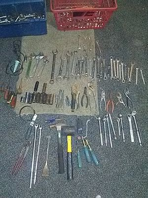 Craftsman wrenches sockets ratchets breaker bars there's some Cobalt in there too for Sale in Columbus, OH
