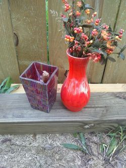 base and flowers from Tuscon Ari. Thumbnail