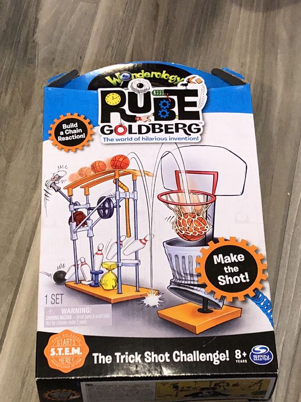 Chain reaction Rube Goldberg sports set for kids for Sale in Corona, CA -  OfferUp