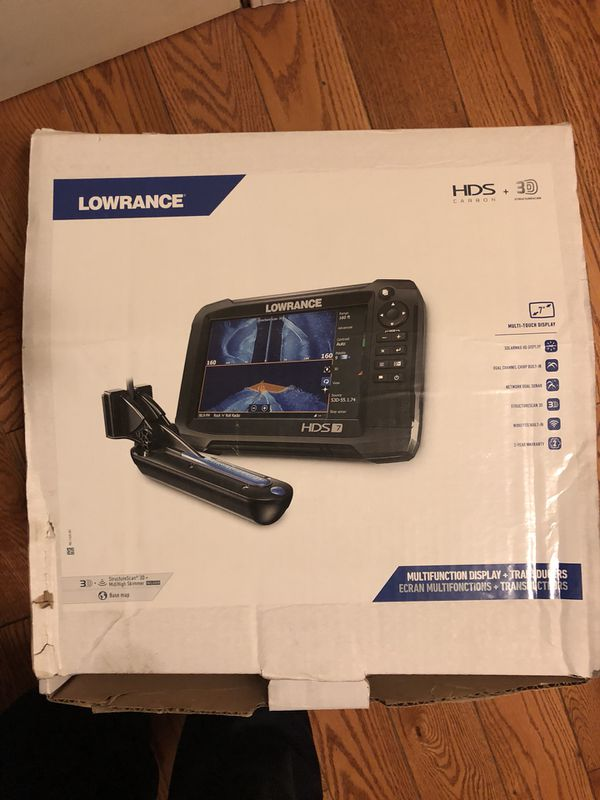 Lowrance HDS7 Carbon 3D bundle fish finder for Sale in North Chicago, IL -  OfferUp