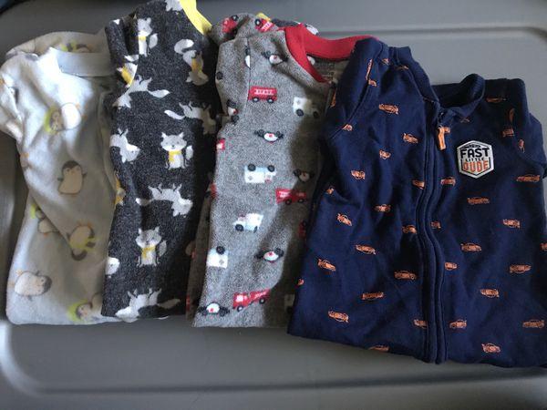 535471778 Carters Baby Boy sleepwear   PJs - 9 months  8 all for Sale in Santa ...