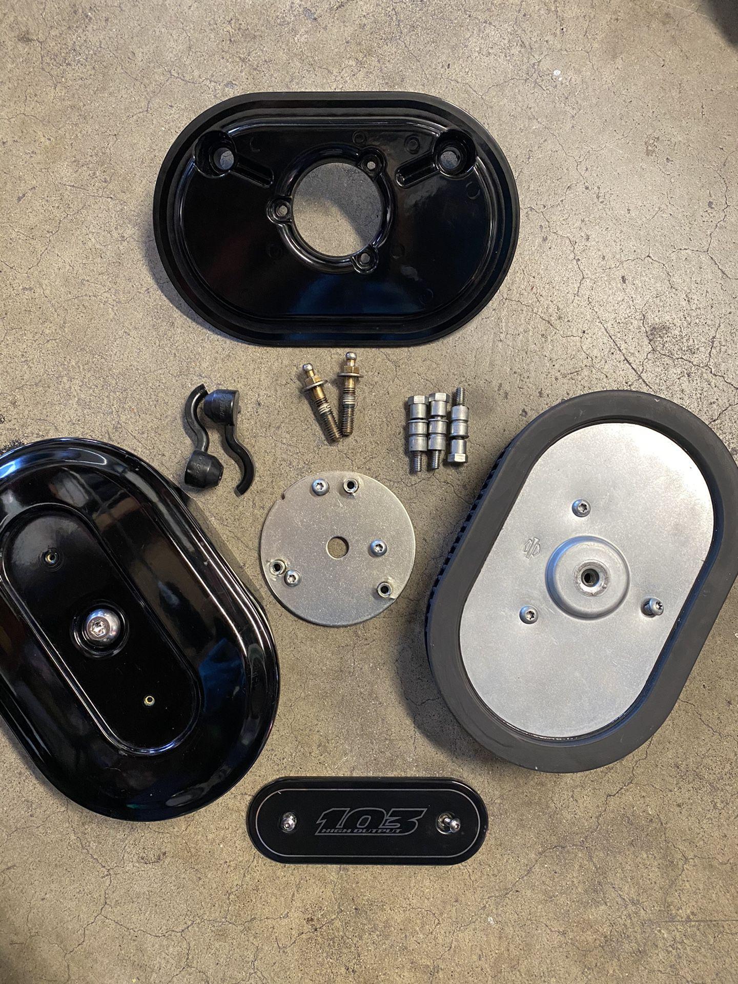 Harley Davidson Dyna Air cleaner (complete)