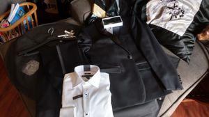Men's Calvin Klein tuxedo jacket 38 pants 34 shirt 15 34/35 for Sale in Manassas, VA