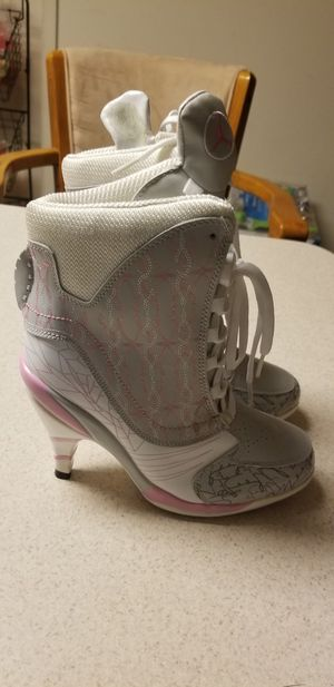 Air Jordan US Women's size 8 High Heel Sneakers for Sale in Frederick, MD