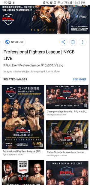 PFL MMA Quarter Finals Tickets for Sale in Alexandria, VA