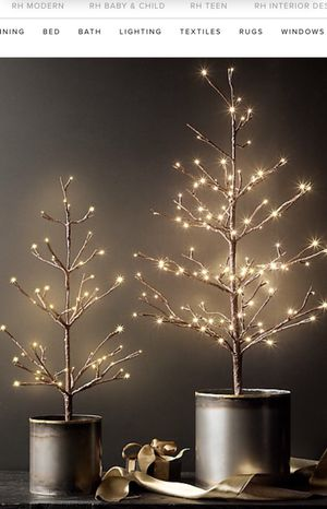 restoration hardware starlit christmas tree 2ft for sale in san diego ca